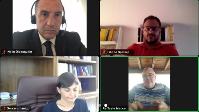 incontro con capogruppo Serracchiani e Dipasquale
