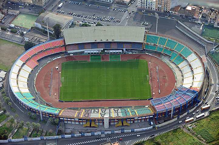Catania-Bari : disponibili biglietti settore ospiti del 'Massimino' Stadio-Massimino