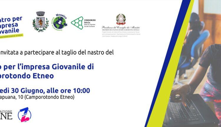 Invito stampa inaugurazione Camporotondo