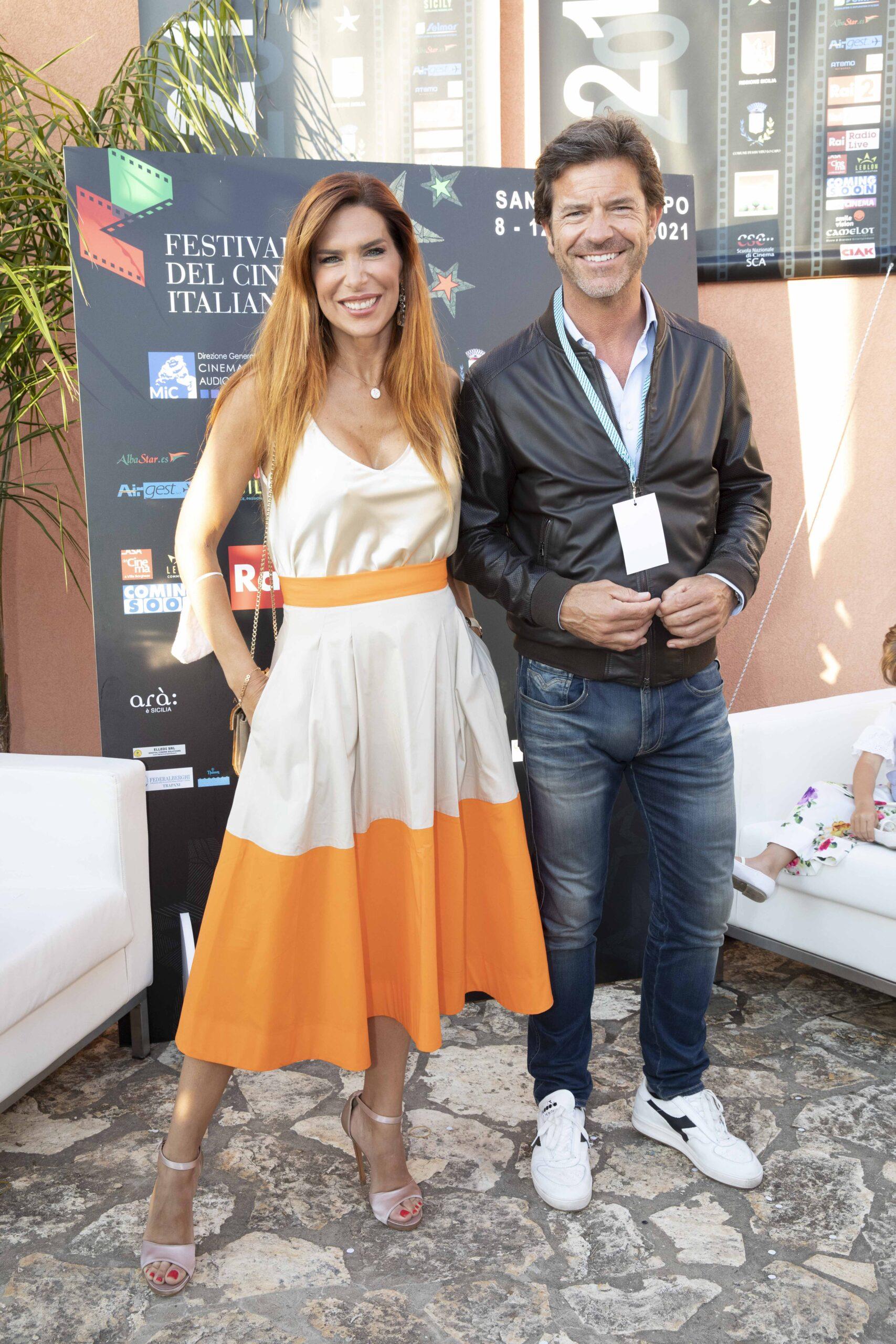 Veronica Maya e Paolo Conticini