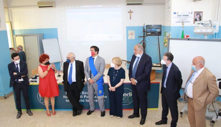 ministro istruzione Patrizio Bianchi visita stamattina Duca degli Abruzzi di Catania (4)
