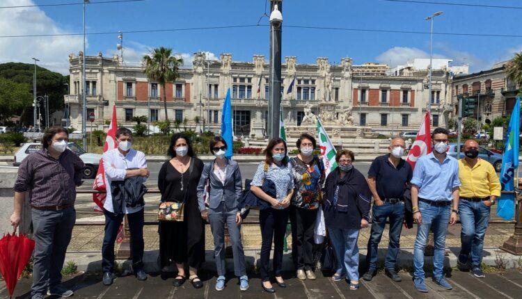 protesta scuola Messina