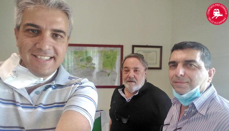 Comitao Pro ferrovia Valle Alcantara incontra Renato Fichera
