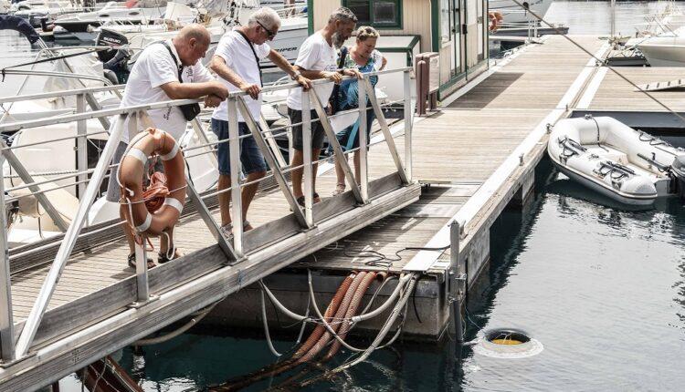 Coop a Milazzo, presentazione Seabin LifeGate – Foto 06_DSC7357