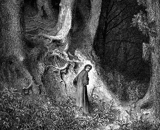 Dore illustrazione Dante