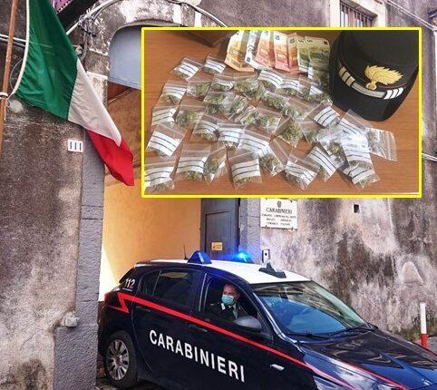 arresto x droga CC Piazza Dante