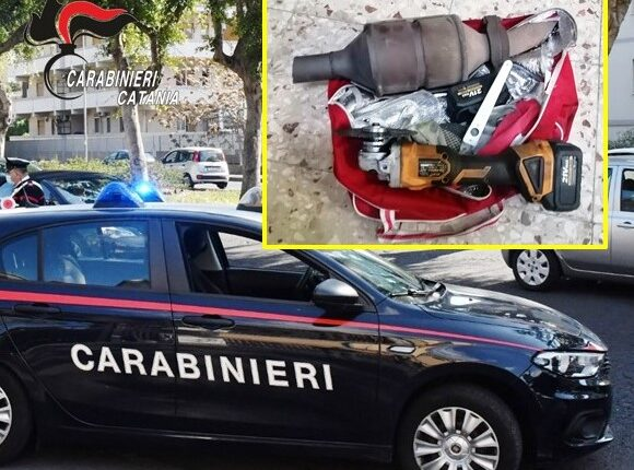 arresto x furto CC Aci Catena