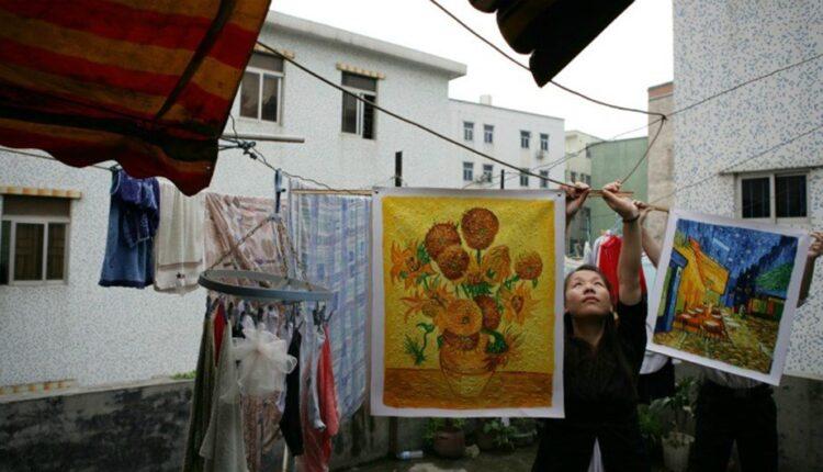 ALLA RICERCA DI VAN GOGH, di Haibo Yu, 2016