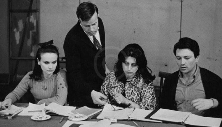 Anna Magnani e Zeffirelli, 1965, le prove (archivio anna magnani)
