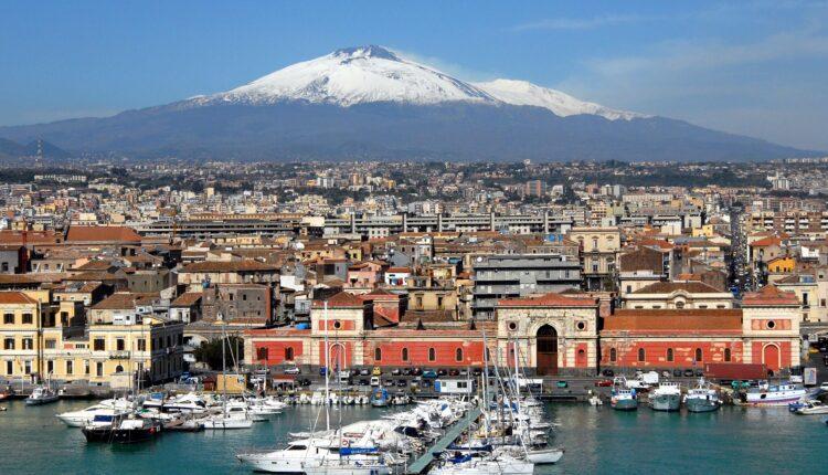 Catania panorama
