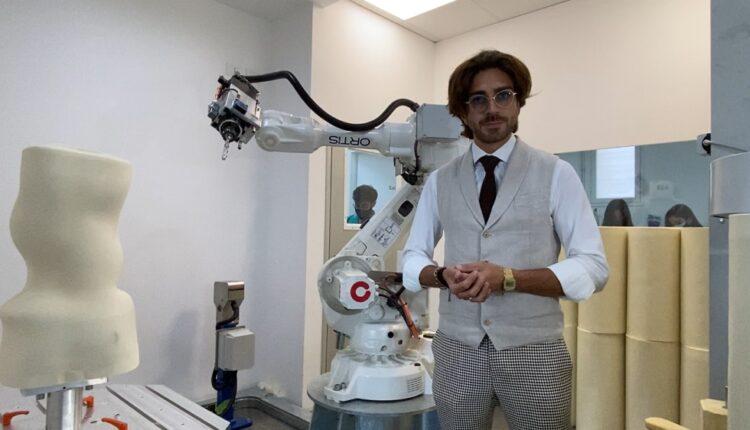 Pietro di Falco – il robot sette assi Ortis Pro2
