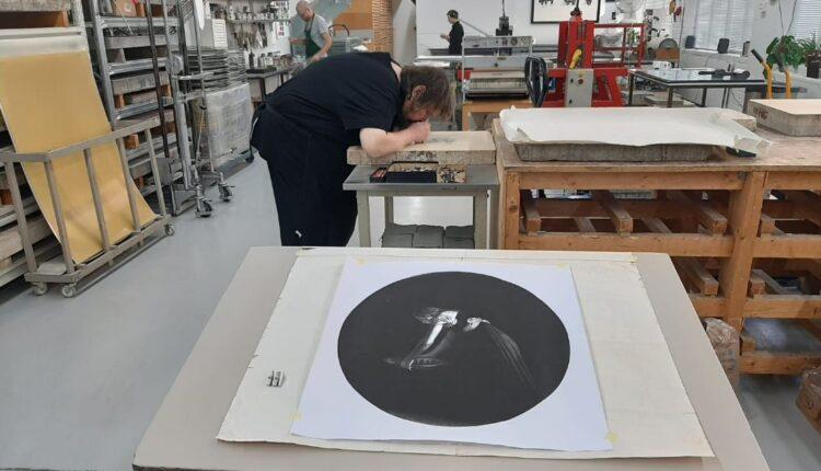 Realizzazione litografia 2