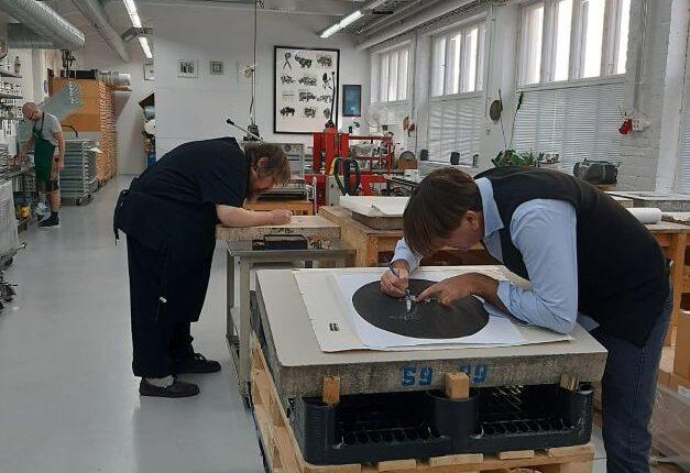 Realizzazione litografia 3