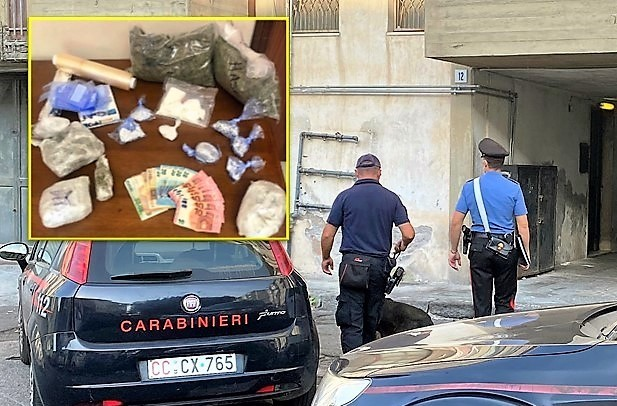 arresto x droga CC Fontanarossa29 settembre