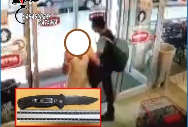 rapinatore in azione