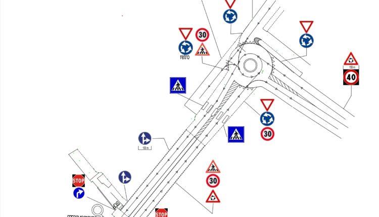 Ponte Calderà circolazione stradale dal 4-10-21
