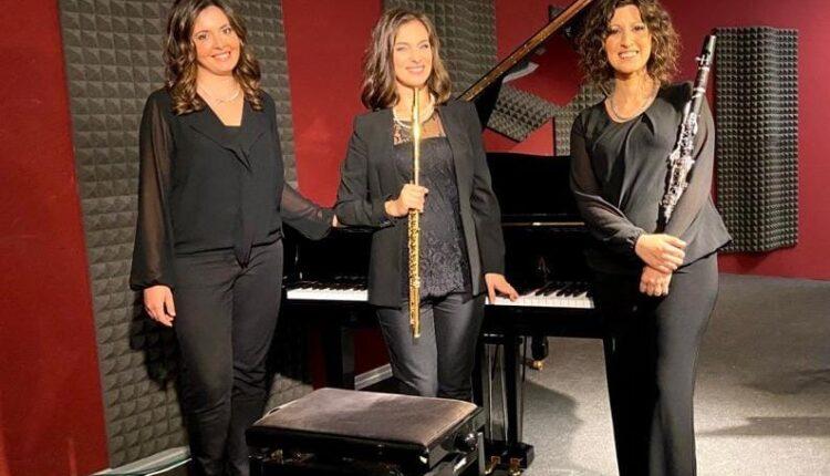 Trio Arabesque 2 da sin. Bordonaro, Mazzarino e Longo
