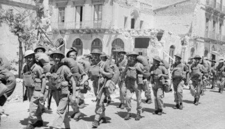 Truppe britanniche a Siracusa