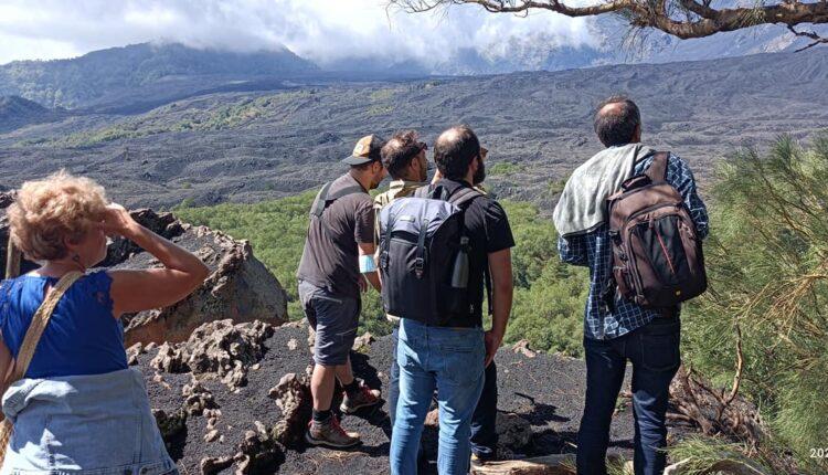 VM2021, escursione sull'Etna e alberi monumentali (ph. Associazione Trucioli)