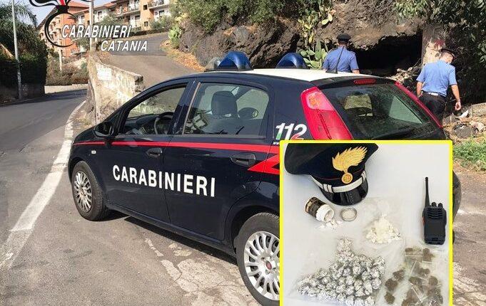 arresto x droga CC Fontanarossa