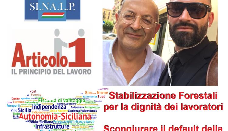locandina sinalp sicilia ed art 1 stabilizzazione forestali