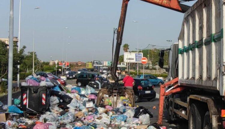 ripresa raccolta rifiuti