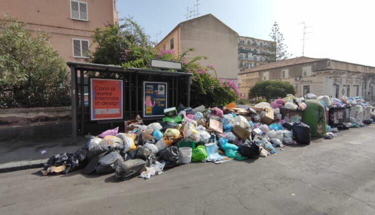 spazzatura non raccolta nel II municipio